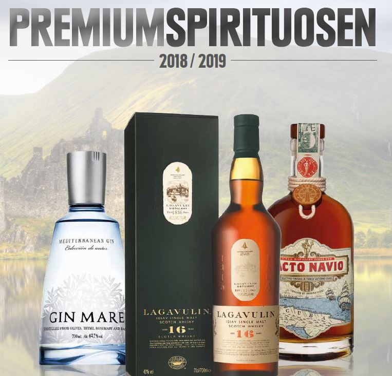 Premium Spirituosen 2018/2019
